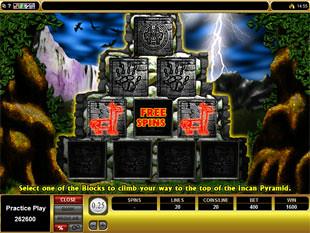 Inca Gold Bonus Wins