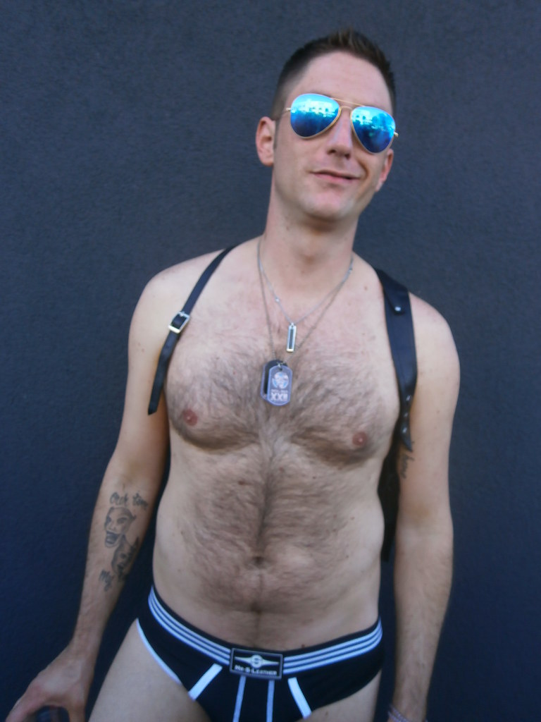 FOLSOM STREET FAIR 2013 ! 666 HELLA HOT BEAR (SAFE PHOTO)