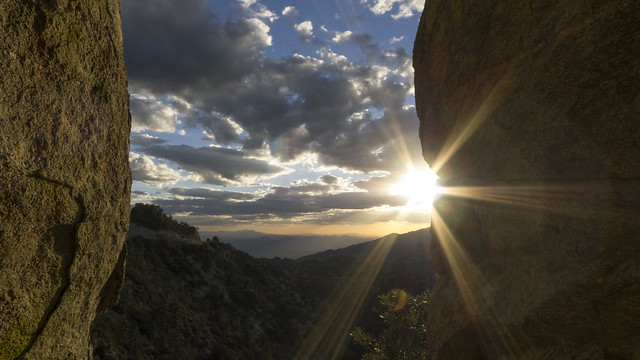 Sunset at Mount Lemmon,  Coronado National Forest