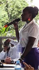 烏干達青年踴躍發言表達其對守護與學習文化傳統的渴望。