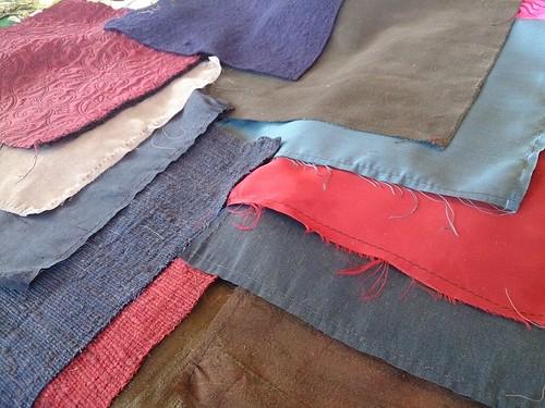 LOTR clothing fabrics