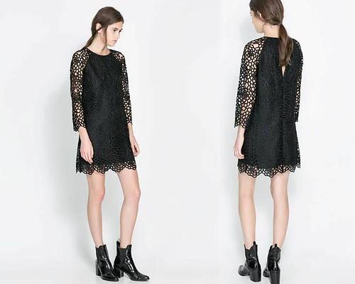 vestido_negro_encaje_Zara