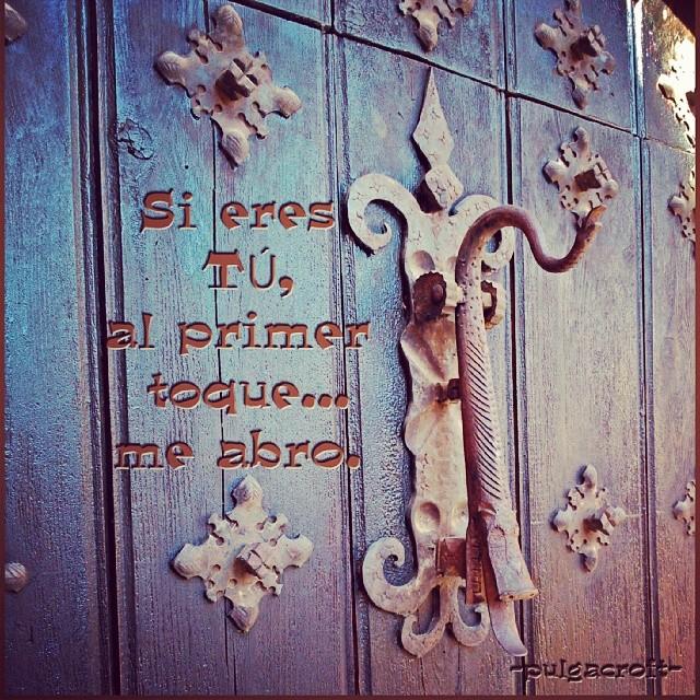 Si Eres Tú Albarracin Teruel Frases Puertas Doors