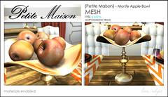{Petite Maison} - Monte apple bowl