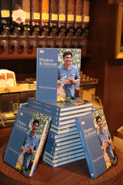 Chef Vikas Khanna launches is 20th Book Shaken & Stirred at Foodhall @ Palladium