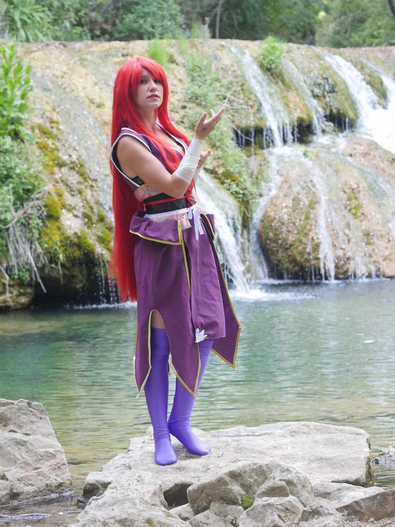 related image - Shooting Erza Scarlet - Robe de Yuen - Fairy Tail - Montferrat - 2015-05-15- P1080618