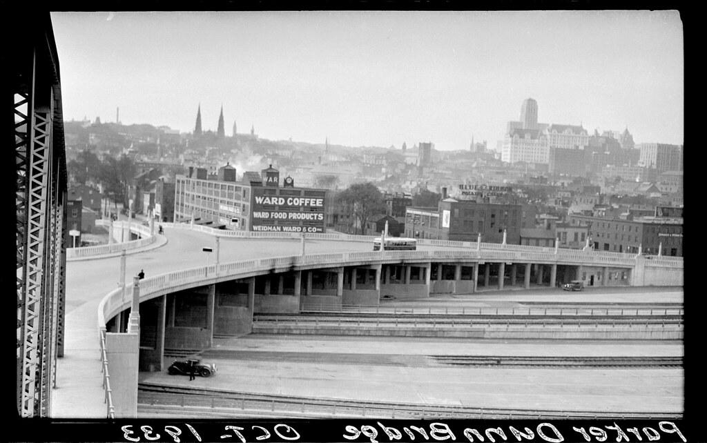Dunn Memorial Bridge Albany NY 1933