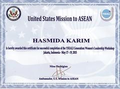 YSEALI Certifikat