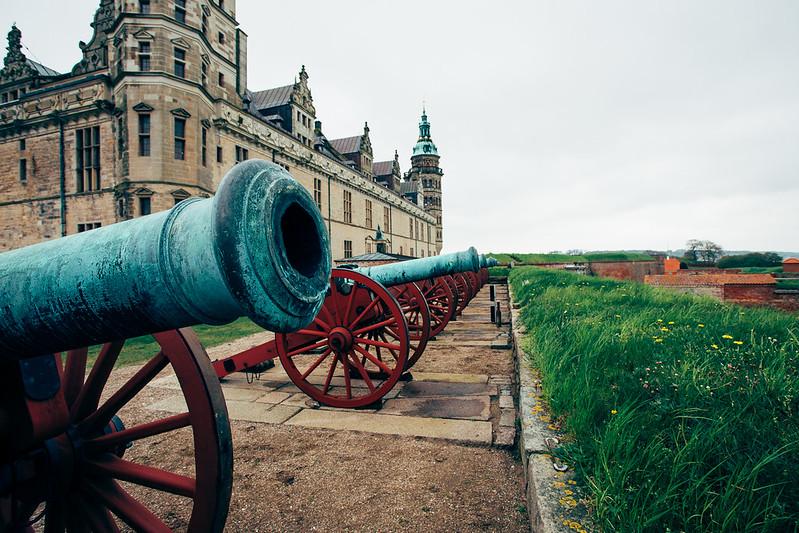 Cannons in Helsingor