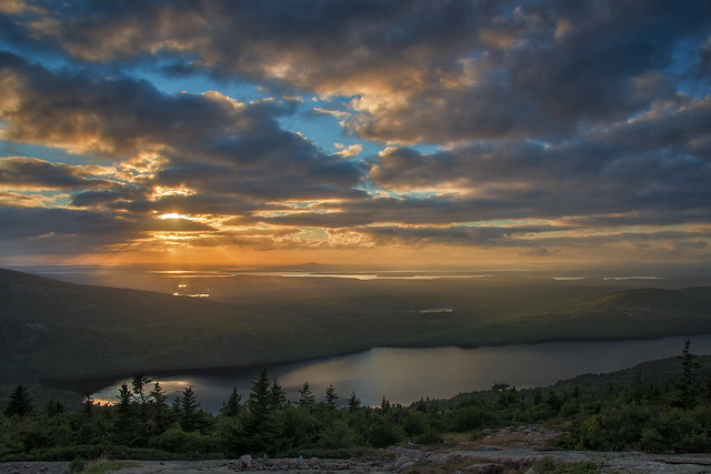 Cadillac Mountain Sunset (Acadia National Park)