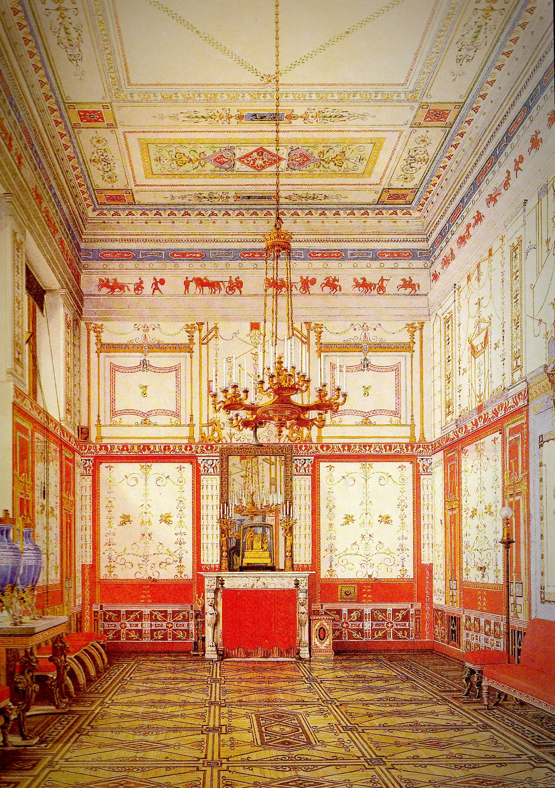 Pompei Dinner Hall, 1873