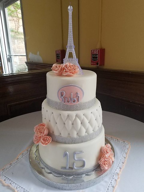 15 in Paris Cake by Cortes Liza of Cakes, Ice Cream and More by Liza