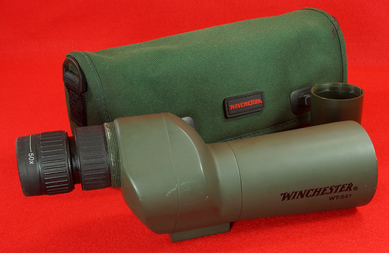 RD14520 Winchester WT-541 Spotting Scope with Bag DSC05908