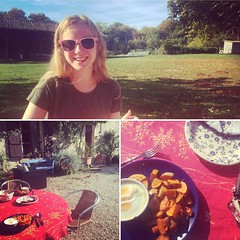 Il paraît qu'on est fin octobre (il paraît) - October 30, 2016 #lagrossetalle #paysmellois #countryliving #lunch