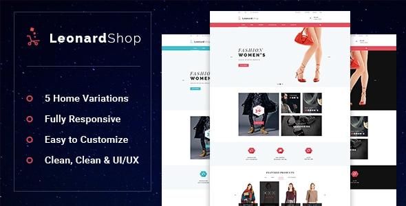 Leonard v1.0.0 - Fashion Store Prestashop Theme