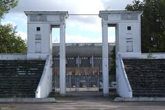Entrance of Žalgiris Stadium, 28.09.2013.