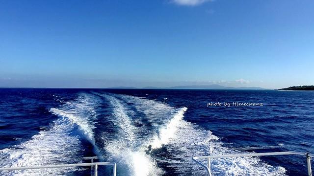 天気がいい日は黒島へ♪