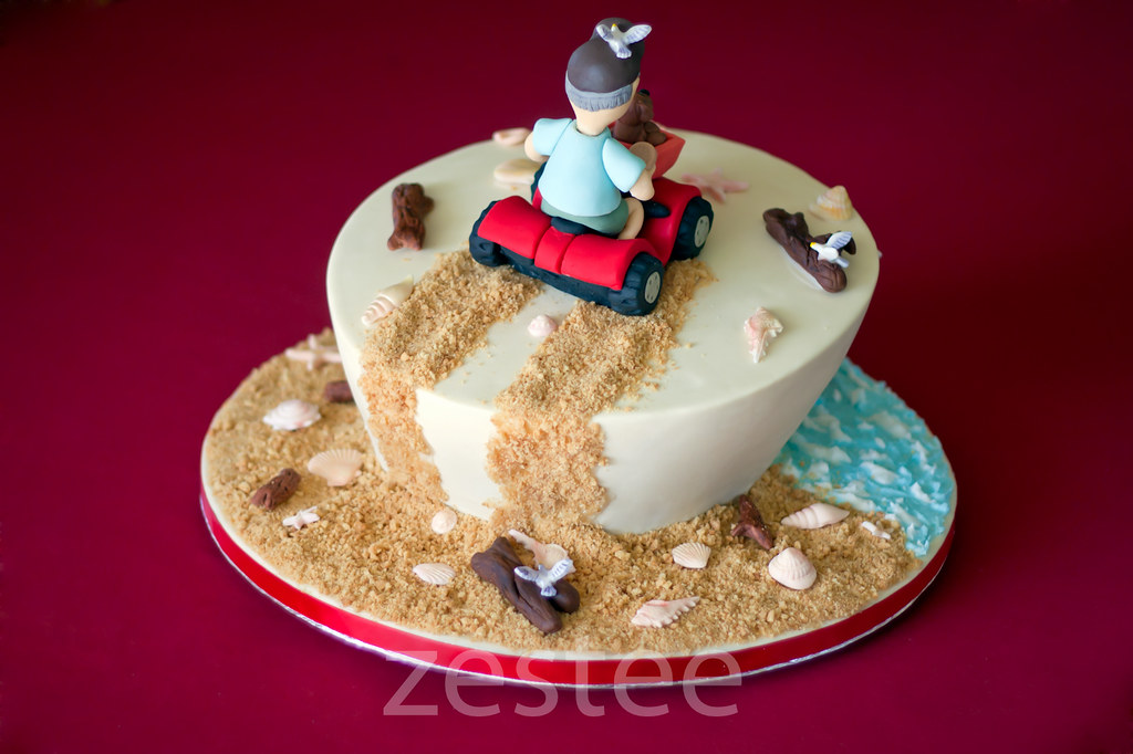 The Sand Side Of Dads 60th Birthday Cake