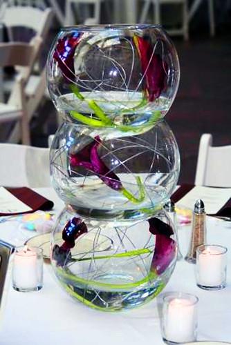 centro de mesa de boda