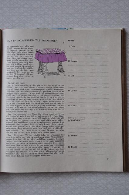 Evas kalender april 1963