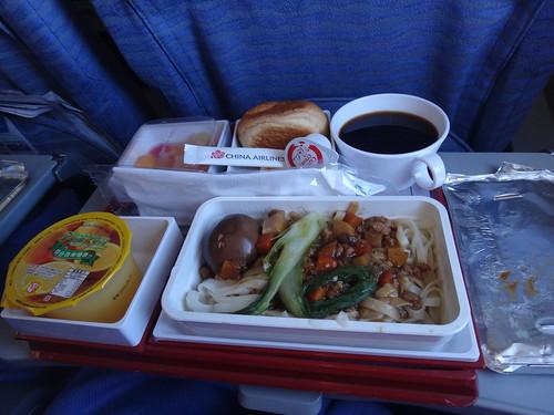 華航的早午餐
