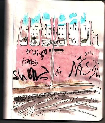 puerta de colegio cerrada, Madrid