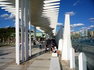 modernes Kulturerlebnis entsteht am hafen von Malaga