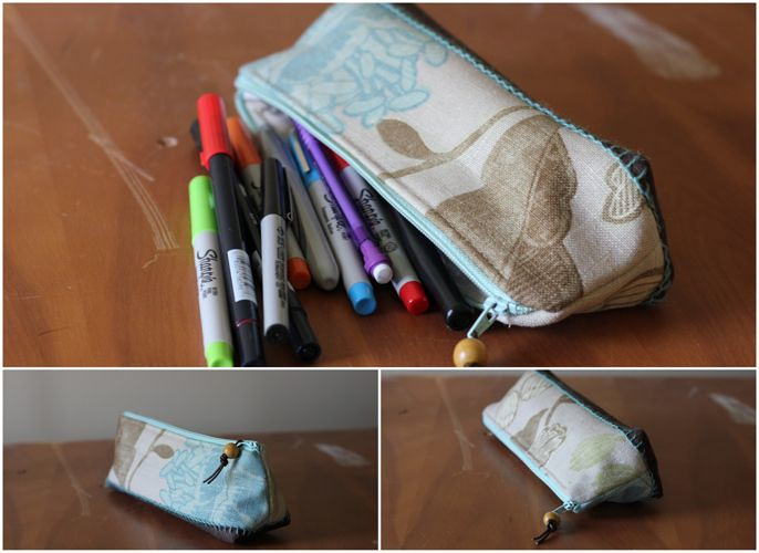 pale artists pouch