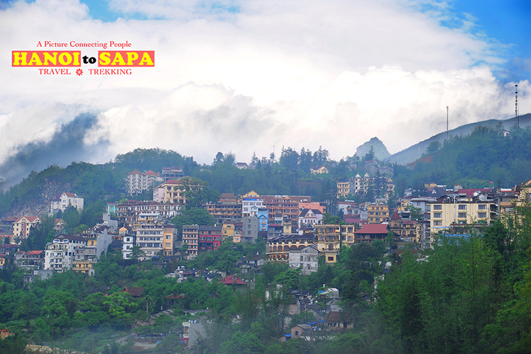 A view of Sapa Town