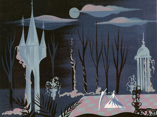 Mary Blair Cinderella and the Prince
