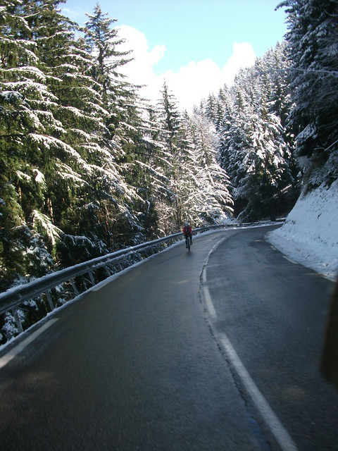 Col de la Morte in April