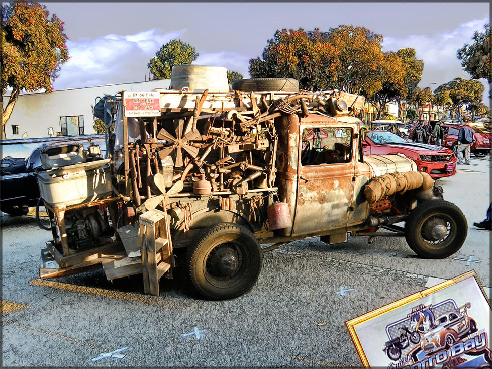 RAT ROD TRUCK Morro BayCA Car Show Hdr Photo A Photo On - California car shows