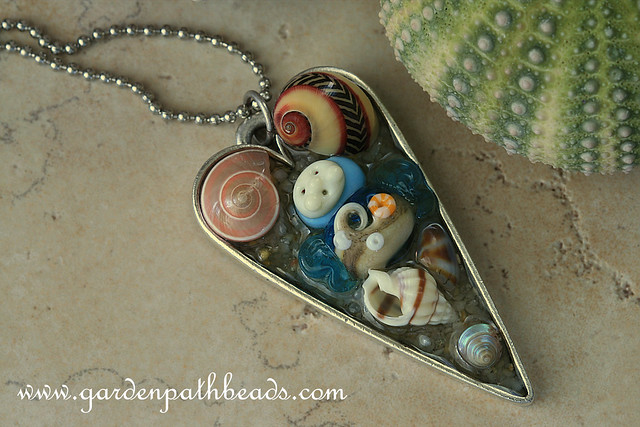 Seaside Fairy- Tide Pool Necklace