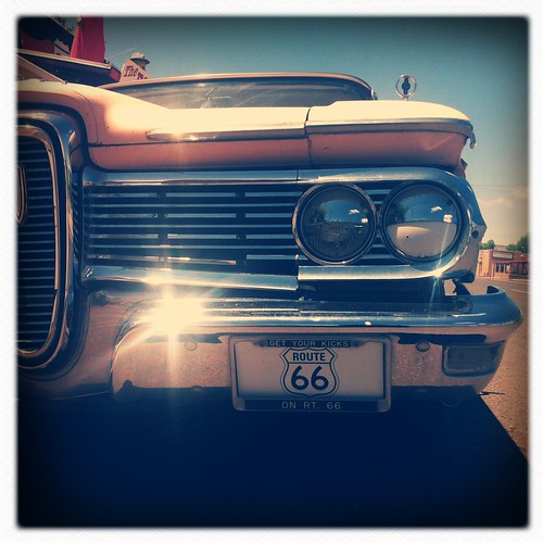 Route 66 by Cliff Truesdell