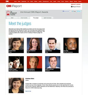 CNN iReport Awards - Judges