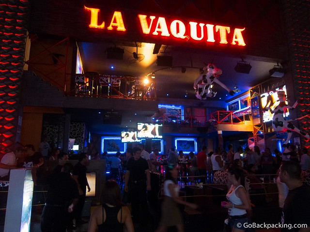 La Vaquita dance club