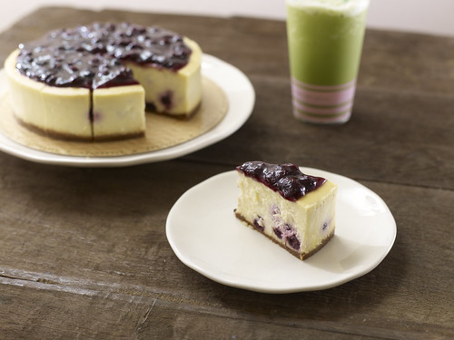 Blueberry-licious Cheesecake