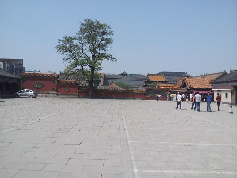 清沈阳故宫入口处一