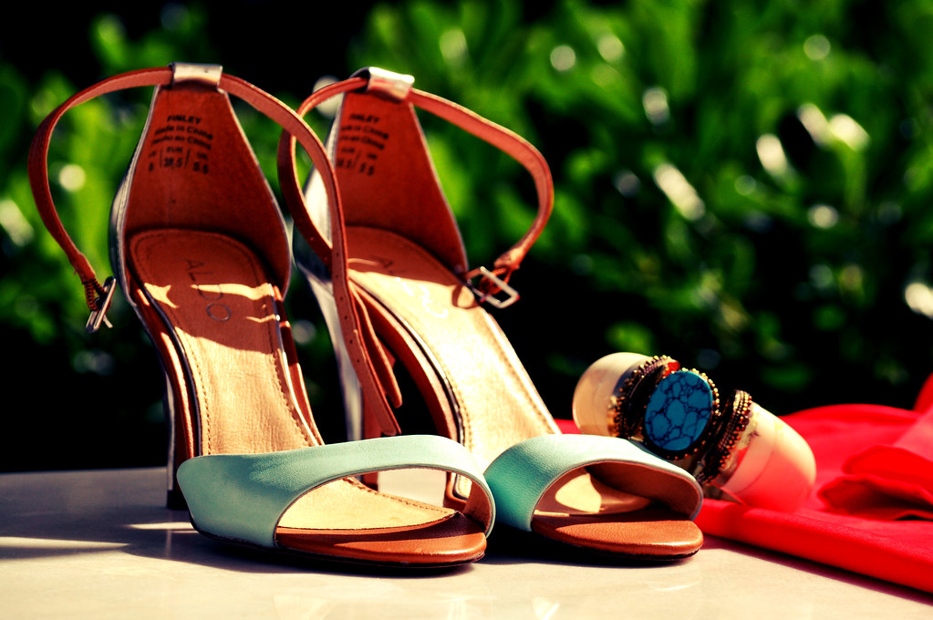 shoes and bangle