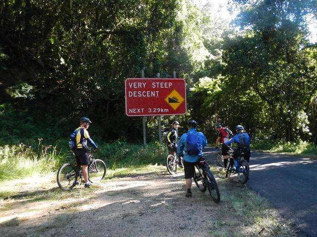 Steep Descent Ahead