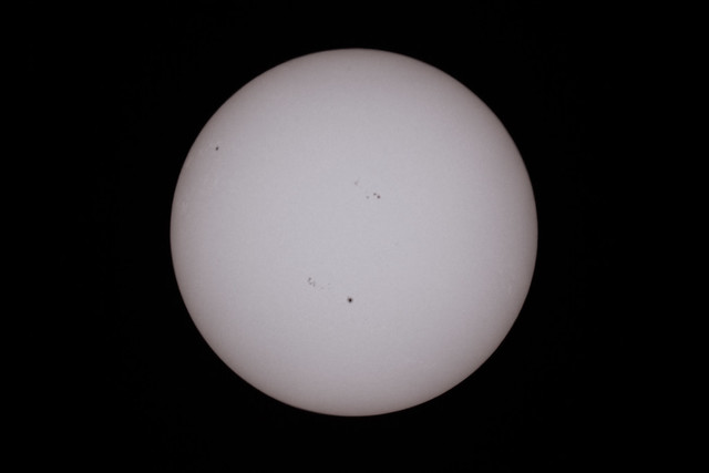 First image of the Sun