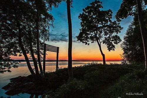 night sunrise finland tampere yö summernight uimaranta auringonnousu yökuva onkiniemi