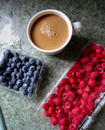 Coffee and Berries