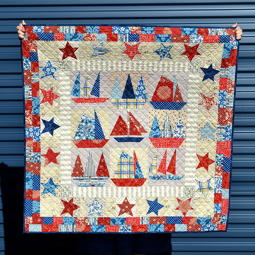 Old New Sailboats Quilt