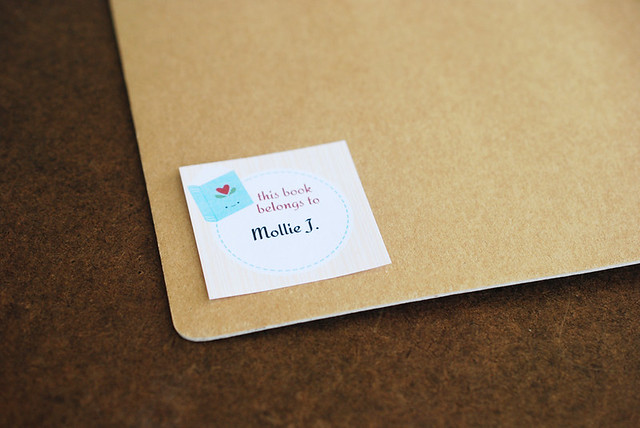 Printable Mini Book Plates
