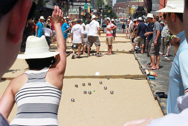 pétanque on smith street