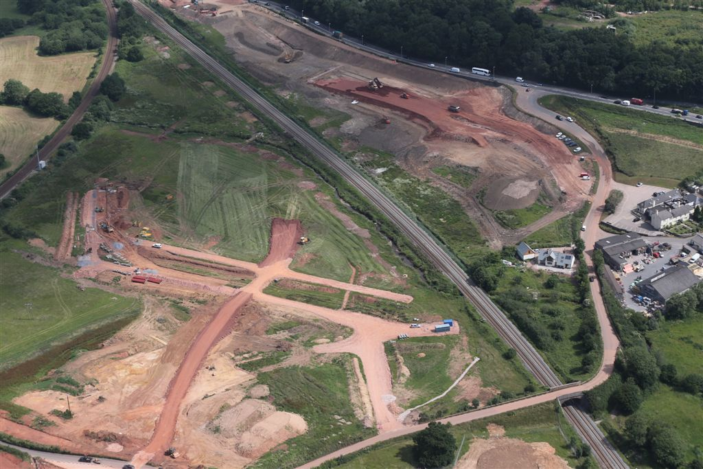 Aerial Photo 18 July 2013