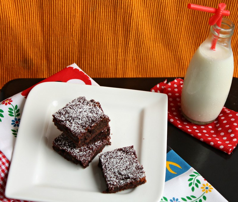 beet and choco brownies