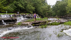 Blue Hole Falls at Old Stone Fort State Park - August 3, 2013