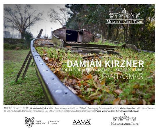 """Damián Kirzner. """"Fantasmas"""" en el Museo de Arte Tigre"""